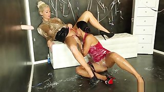 Candy Blond And Her Friend Have Fun