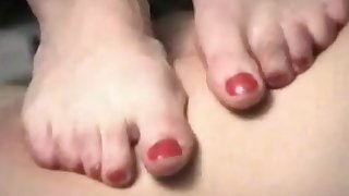 Femdom with PAWG Russian Dominas in foot trampling fetish