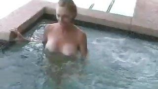 Horny granny and wife named Wicked Sexy Melanie loving cock.