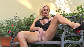 Horny mature Jewel waits for her husband to leave to cheat on him
