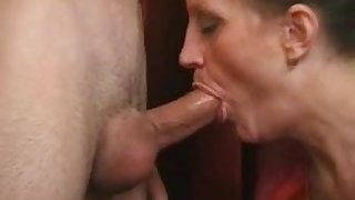 Hot Serbian lady fucked electrician