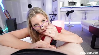 Ashley Fires is a succulent ash-blonde with glasses, who luvs tosuck and rail penises