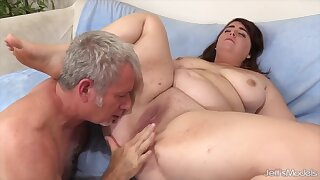 Sexy and horny BBWs enjoy getting their plump pussies licked good
