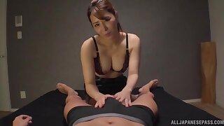 Amateur homemeade POV video of Kururugi Mikan giving a blowjob