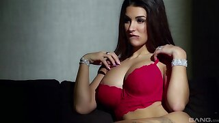 Tattooed girlfriend Susy Gala drops her bra and panties to have sex