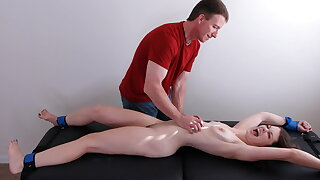 Borders naked and tickle tortured