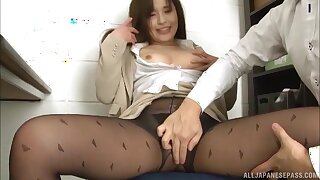 Gorgeous Kiriyama Anna makes a dick fall apart fro her wet pussy