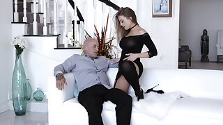 Mature wife Britney Amber gets say no to pussy crushed and fucked deep