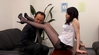 Uncensored Well done Pantyhose Female Teachers Saho Minami