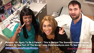 Canticle Cummings' Annual Gyno Exam By Doctor Tampa, Nurse Misty