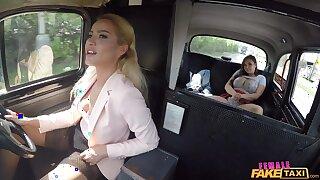 Female Fake Hansom cab - Pupil Tongue Fucks Hot Bush Pussy 1 - Cherry Kiss