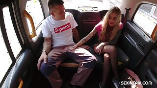 Unpredictable intensify blonde wants to fuck with the driver