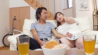 Chubby Japanese chick Nakamura Tomoe gets fucked in missionary